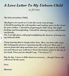 love letter to my unborn child in memory pinterest With letters to baby from mommy