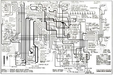 International 4300 Wiring Diagram Backup Light by 1958 Buick Electrical Systems Maintenance