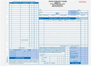auto repair order forms arocc 664 and aro 656 With automotive repair work order template