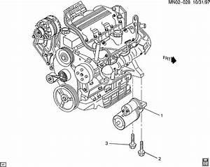 2005 Pontiac Starter Motor Mounting
