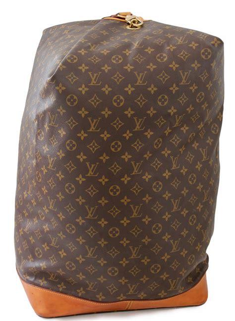 louis vuitton sac marin sailor bandouliere gm travel luggage monogram canvas  stdibs