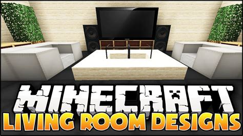 minecraft living room designs ideas