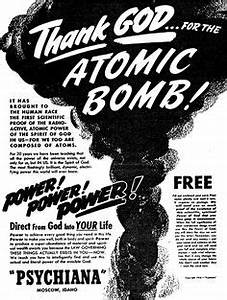 JF Ptak Science Books Atomic Cloud X Rays The Bomb Cloud In Pop Culture 194039s 196039s
