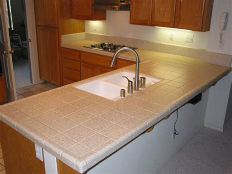 kitchen counter top tile tile kitchen countertops in modern house