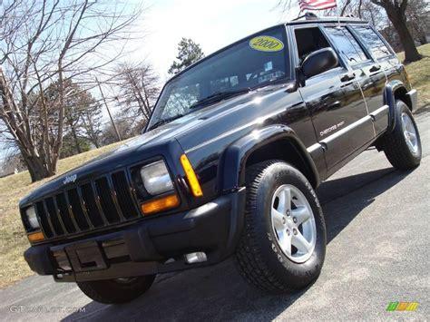 2000 jeep cherokee black 2000 black jeep cherokee sport 4x4 3369550 gtcarlot com
