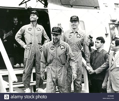 Apollo 13 Fred. W. Haise, James A. Lovell Jr. and John L ...