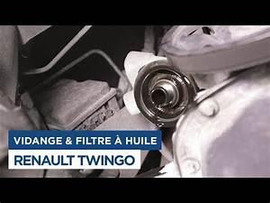 Vidange Twingo 2 : faire la vidange et changer le filtre huile sur renault twingo 1 youtube ~ Gottalentnigeria.com Avis de Voitures