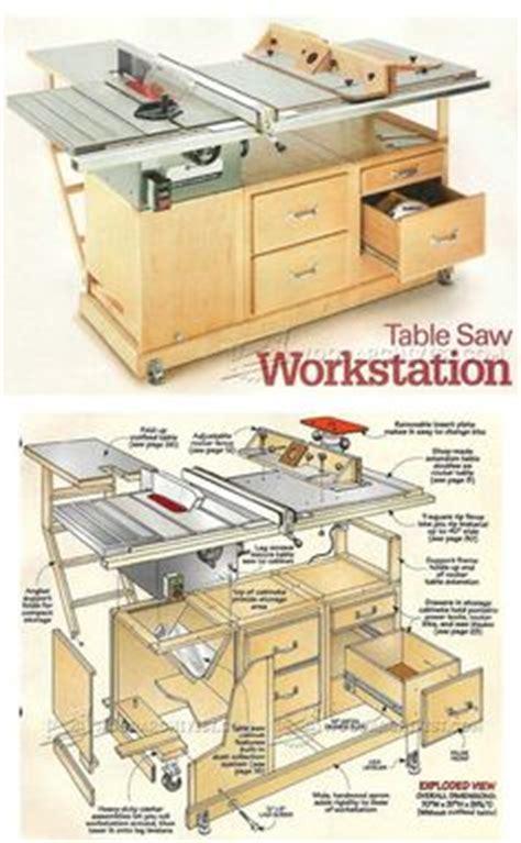 workstation woodworking workshop ideas inspiration