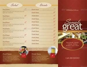 unusual to go menu template ideas example resume ideas With to go menu template free