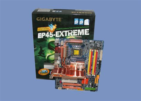 Gigabyte EP45-EXTREME | Introduction | CPU & Mainboard ...