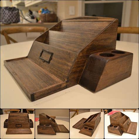 desk organizer woodworking plans wooden poplar desk organizer woodworking projects