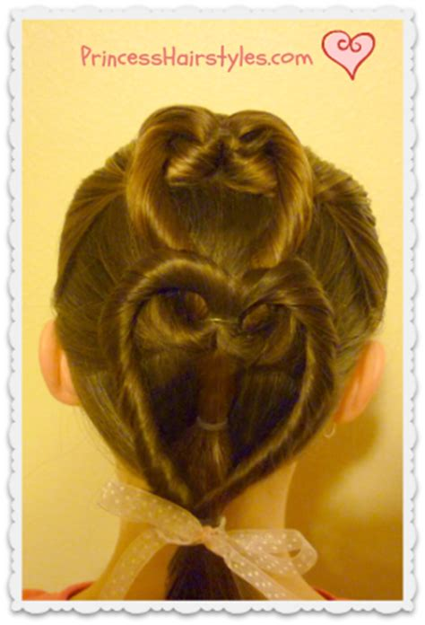 heart french braid valentines hairstyle hairstyles
