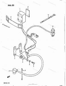 Suzuki Motorcycle 1986 Oem Parts Diagram For Cdi Unit