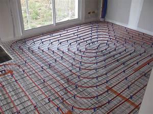 carrelage chauffage au sol chauffage sol electrique sous With carrelage chauffage au sol