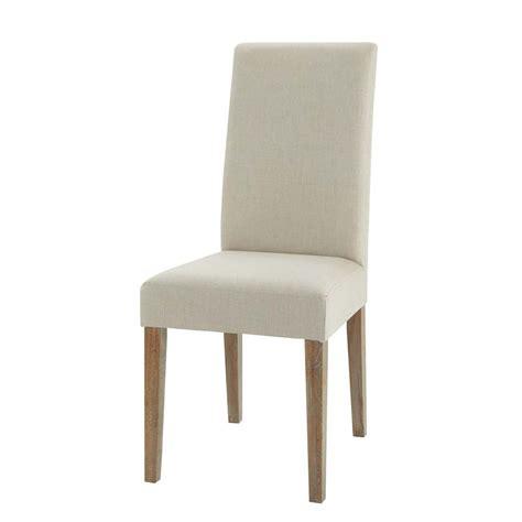 chaises maisons du monde chaise en et chêne léonie maisons du monde