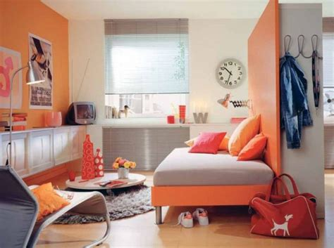deco chambre orange inspiration déco chambre garçon orange