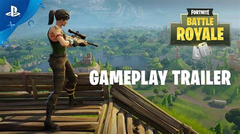 fortnite battle royale gameplay trailer ps youtube