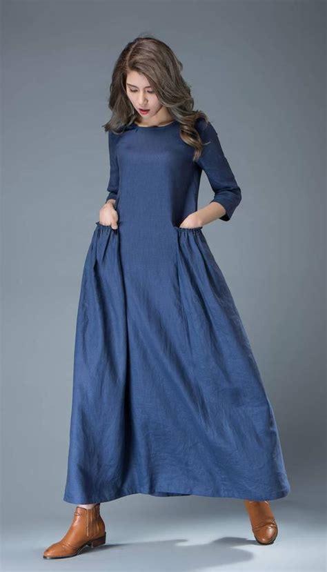 linen dress womens dresses maxi dress  size dress
