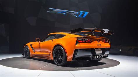 Corvette Zr1 Horsepower by 2019 Chevy Corvette Zr1 Debuts With 755 Horsepower