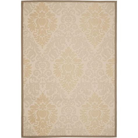 safavieh beige beige indoor outdoor area rug 9 x 12