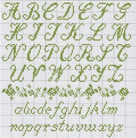cross stitch alphabet cross stitch cursive alphabet civil war reenacting pinterest stitches charts and lettering
