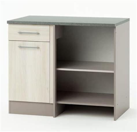 tiroir angle cuisine meuble de cuisine bas angle 1 porte 1 tiroir chef lestendances fr