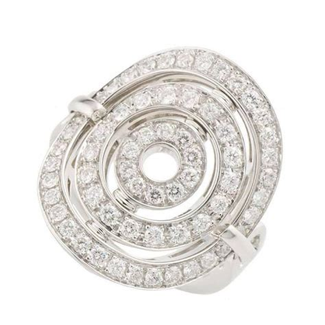 bulgari astrale white gold ring at 1stdibs