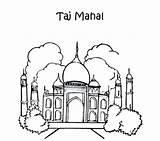 Taj Mahal Coloring Phantom Pages Opera India Ancient Drawing Getcolorings Colouring Printable Getdrawings sketch template