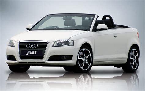 Audi Convertible Abt Top Speed