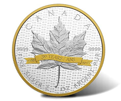2018 large silver plated number canadian 2018 10 gold plated coin pays tribute to sml