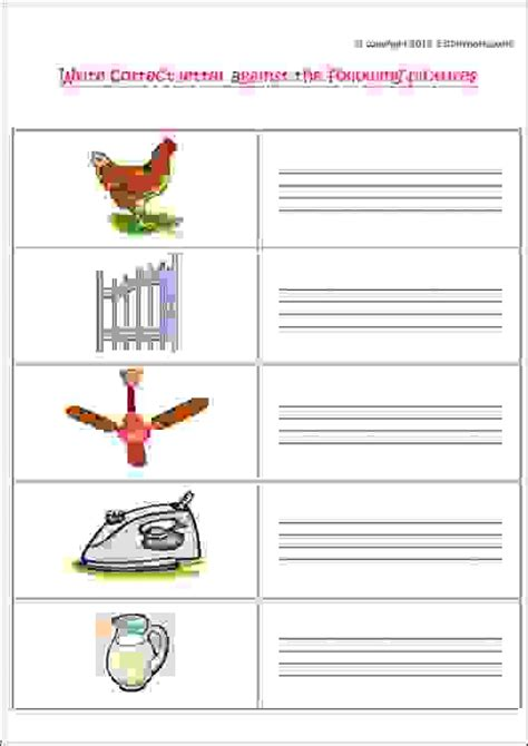 write correct letter against the following pictures f to j