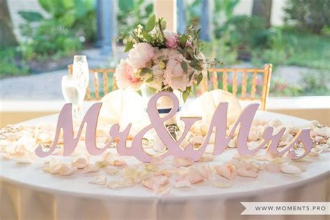 Mr And Mrs Headsweetheart Table Photo By Moments