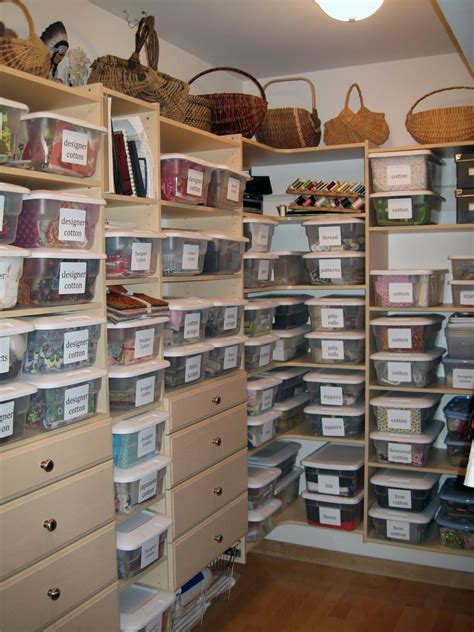 Lynette Russell Designs Craft Closet Organizing Sewing