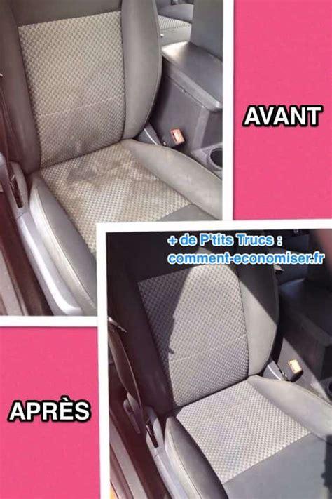 comment nettoyer facilement vos sièges de voiture