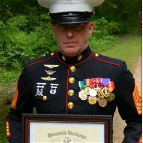 distinguished u s marine stands up for american people and