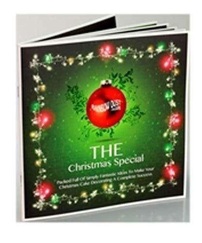 christmas cake decorating books