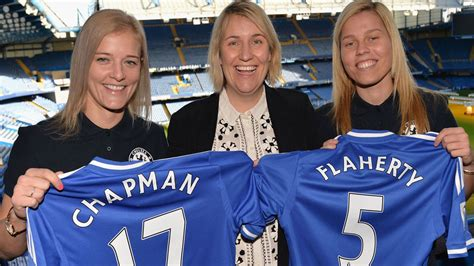 Chelsea Ladies manager Emma Hayes lauds Katie Chapman and ...