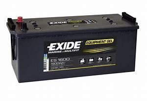 Batterie Exide Gel : exide leisure batteries equipment gel es1600 low cost batteries online ~ Medecine-chirurgie-esthetiques.com Avis de Voitures