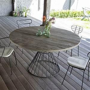 Table Bois La Redoute : best 25 table ronde ideas on pinterest table ronde design table ronde cuisine and mesa redonda ~ Melissatoandfro.com Idées de Décoration