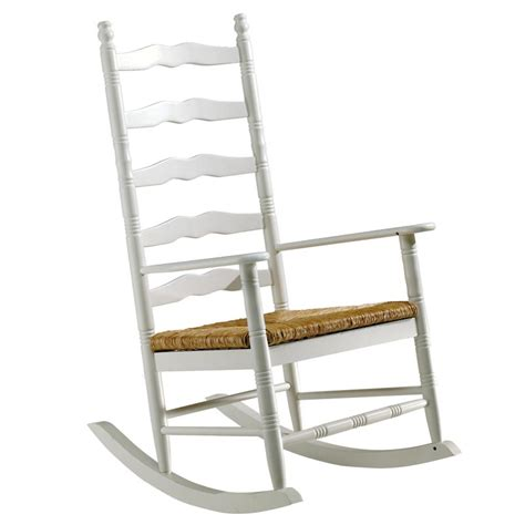 mobiler de bureau rocking chair blanc à petit prix
