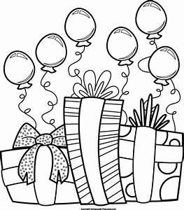 Present black and white birthday black and white birthday ...