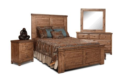 rustic bedroom set rustic pine bedroom set pine wood