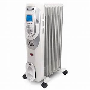 Radiateur A Bain D Huile : radiateur bain d 39 huile thomson digital 2500 w 11 l ments ~ Dailycaller-alerts.com Idées de Décoration