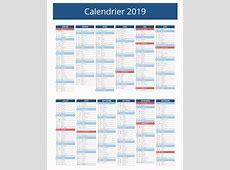 Calendrier 2019 vacances scolaires Download 2019