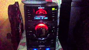 Melk Sony Mhc Gtr 88 O Mini Sisten Mais Potente Do Mundo