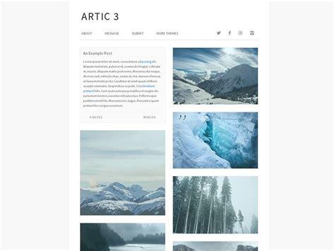 Minimalist Themes Arctic Free Minimalist Theme Bestthemesfree