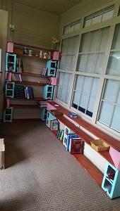 Cinder, Block, Shelves