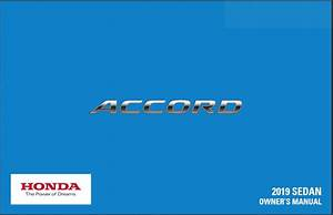 2019 Honda Accord Owners Manual