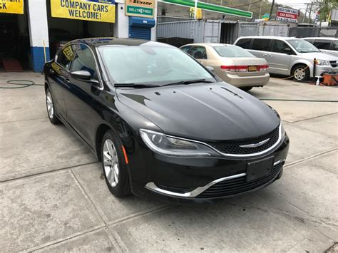 Used Chrysler Cars For Sale by Used 2015 Chrysler 200 Sedan 10 990 00