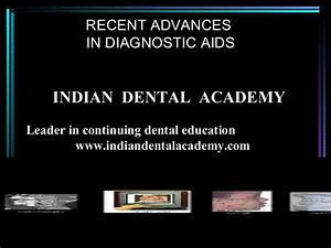 Recent Advances In Diagnostic Aids Certified Fixed